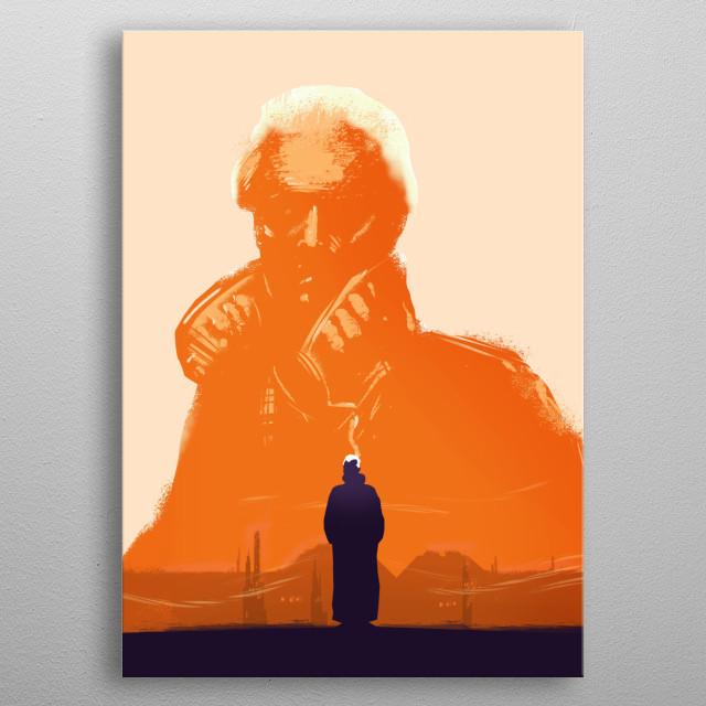Roy Batty metal poster