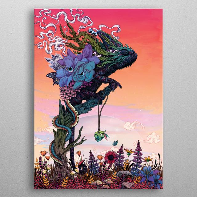Phantasmagoria metal poster