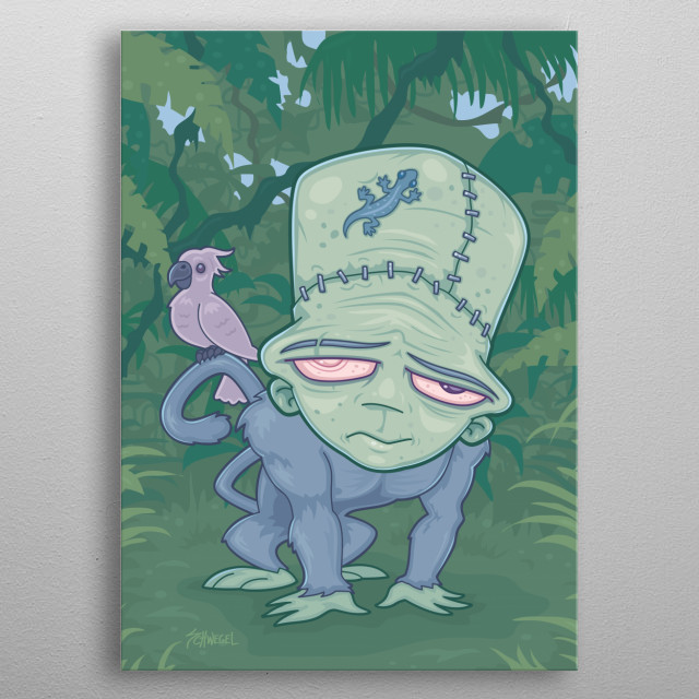 High-quality metal wall art meticulously designed by fizzgig would bring extraordinary style to your room. Hang it & enjoy. metal poster