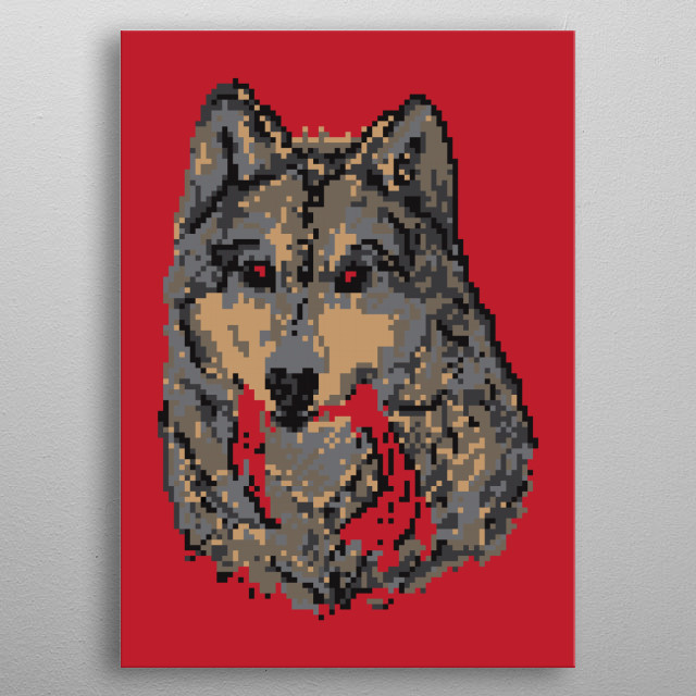 High-quality metal wall art meticulously designed by godzillarge would bring extraordinary style to your room. Hang it & enjoy. metal poster
