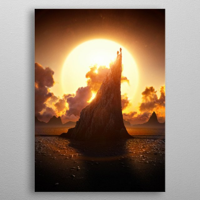 Children of the Sun metal poster