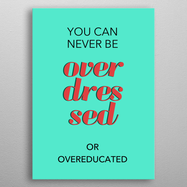 empowerment quote7 metal poster