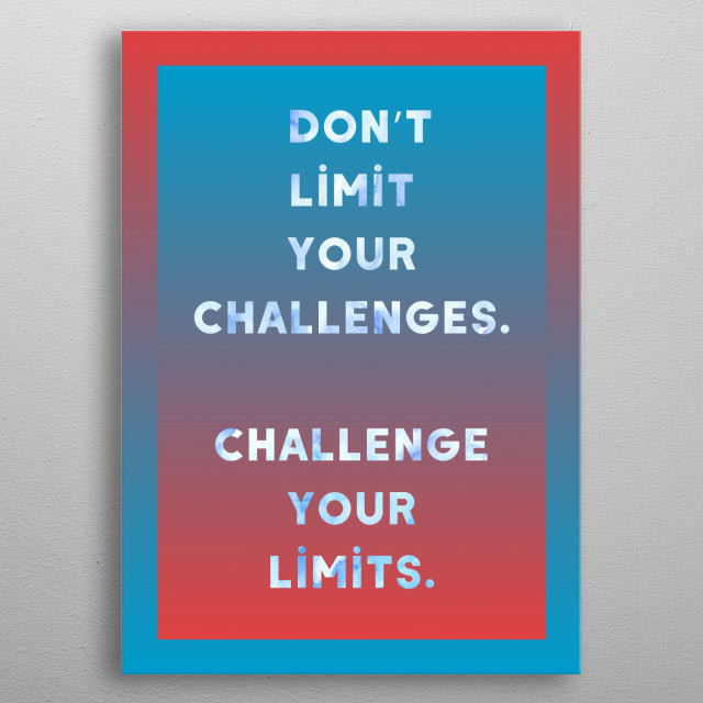 empowerment quote8 metal poster