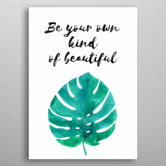 empowerment quote6 metal poster
