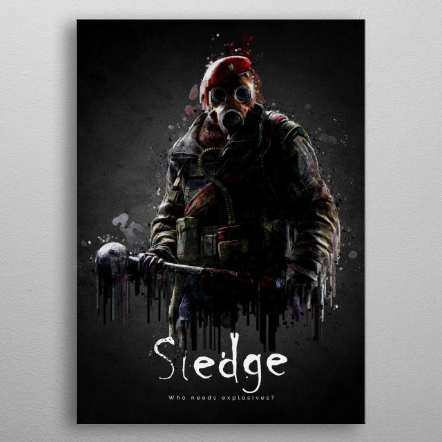 Sledge Elite metal poster