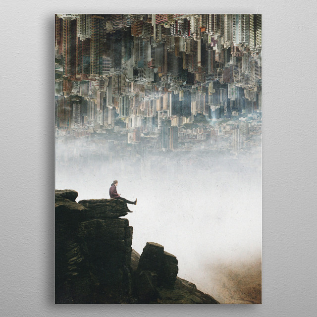 Between The Haze metal poster