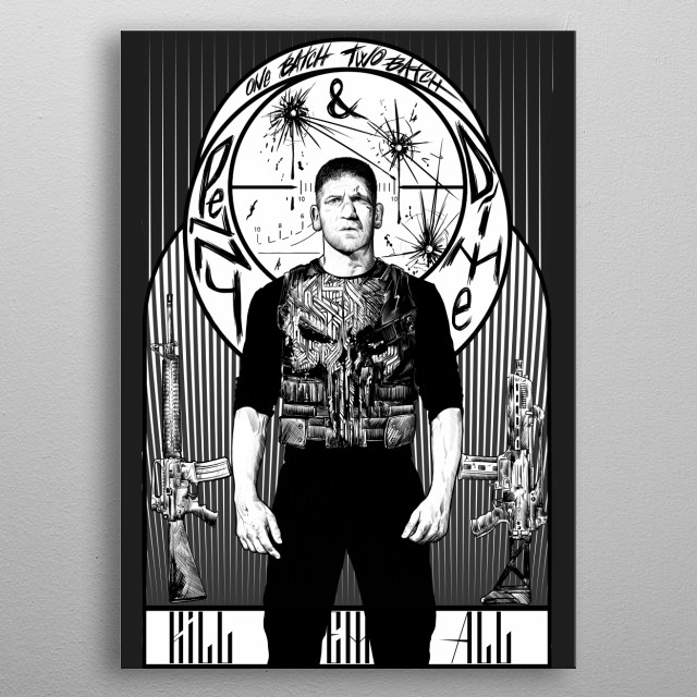 This marvelous metal poster designed by mrklevra to add authenticity to your place. Display your passion to the whole world. metal poster