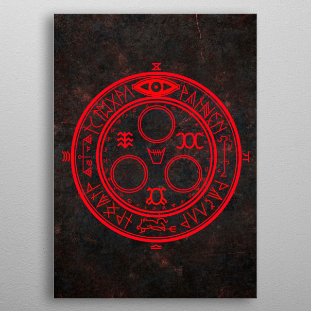 Halo of the sun - Silent Hill. metal poster