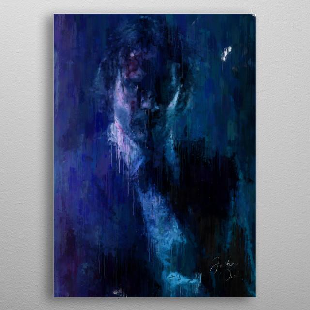 John Wick 2 Paint metal poster