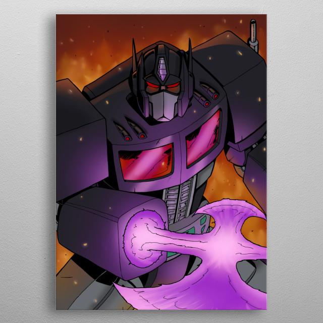 Nemesis metal poster