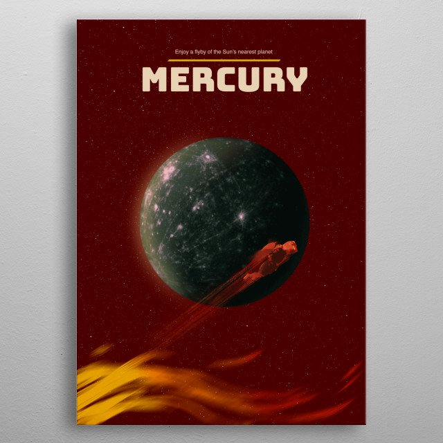Mercury metal poster