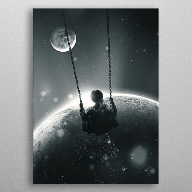 Back and Forth  metal poster
