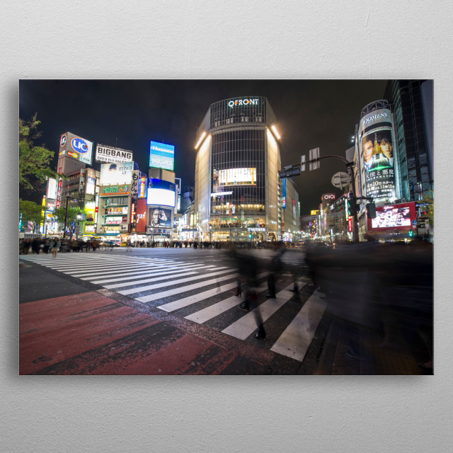 High-quality metal print from amazing Cityscape collection will bring unique style to your space and will show off your personality. metal poster
