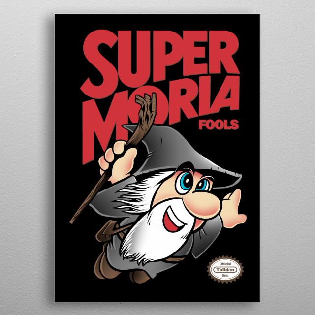 Super Moria Fools metal poster