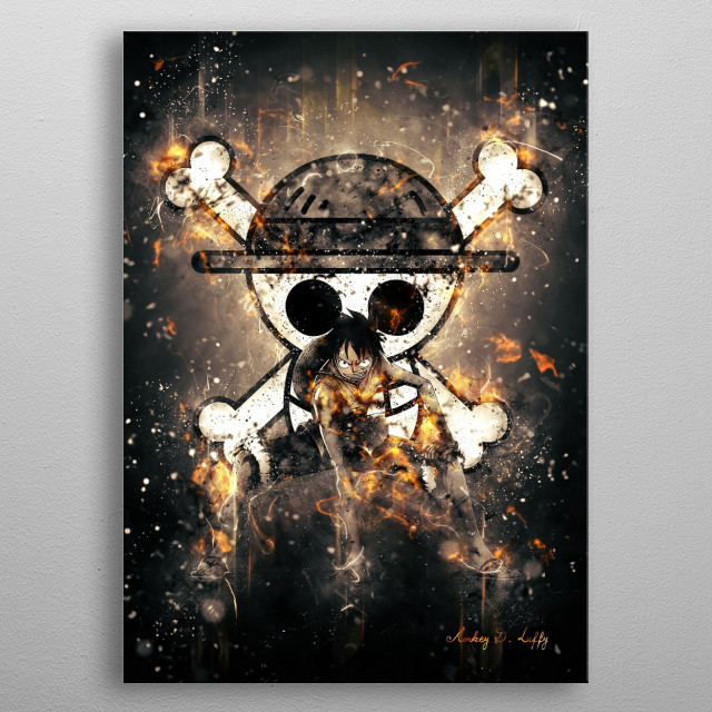 High-quality metal print from amazing One Piece collection will bring unique style to your space and will show off your personality. metal poster