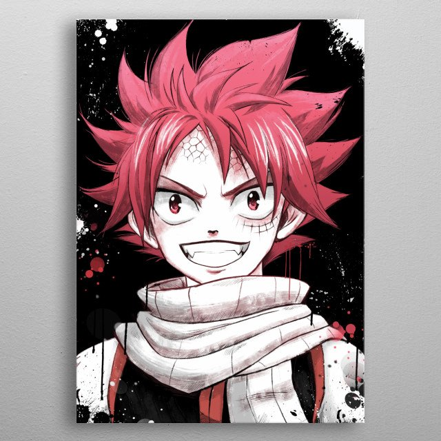 High-quality metal print from amazing Anime Fanart collection will bring unique style to your space and will show off your personality. metal poster