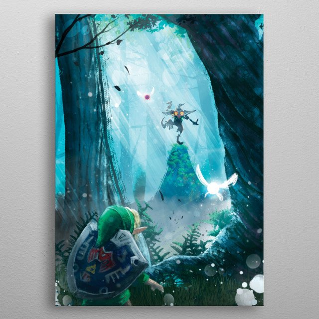 High-quality metal print from amazing Video Game collection will bring unique style to your space and will show off your personality. metal poster