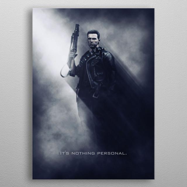 Terminator / Tagline metal poster