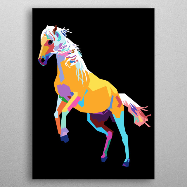 This marvelous metal poster designed by arialfian to add authenticity to your place. Display your passion to the whole world. metal poster