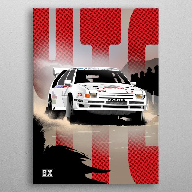 High-quality metal print from amazing Racing Cars collection will bring unique style to your space and will show off your personality. metal poster