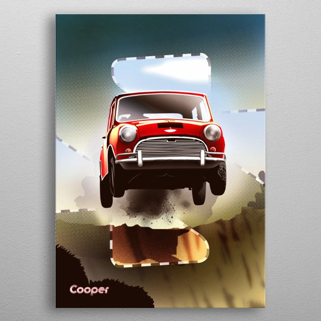 This marvelous metal poster designed by eddie to add authenticity to your place. Display your passion to the whole world. metal poster
