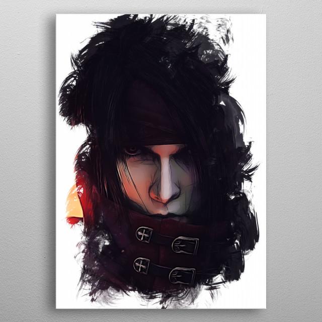 Vincent - sketch metal poster