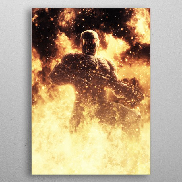 Fascinating metal poster designed by Cornel Vlad. Displate has a unique signature and hologram on the back to add authenticity to each design. metal poster