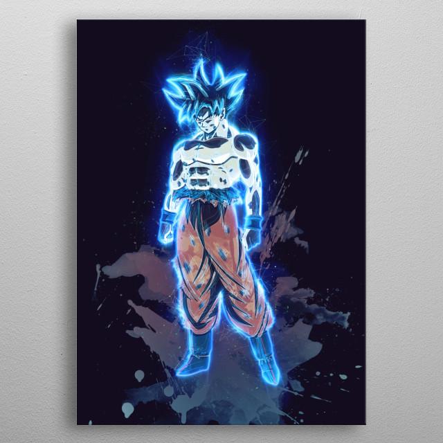 Goku Limit Breaker / Dragonball Z / Renegade metal poster