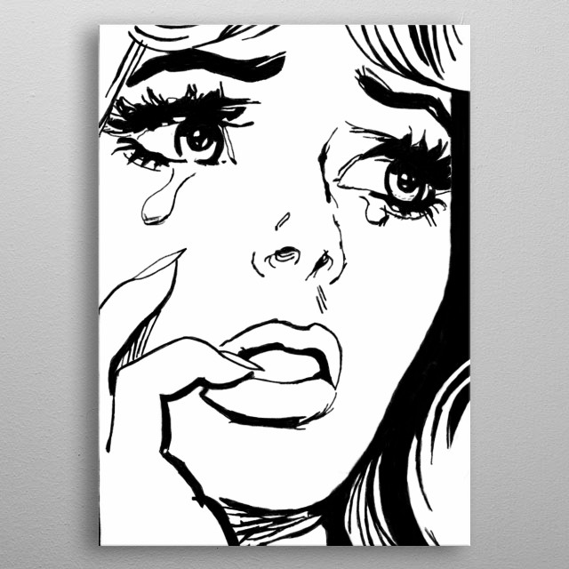 High-quality metal print from amazing True Romance collection will bring unique style to your space and will show off your personality. metal poster