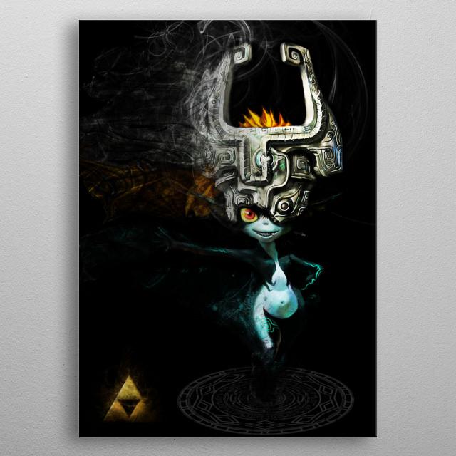 Midna  metal poster