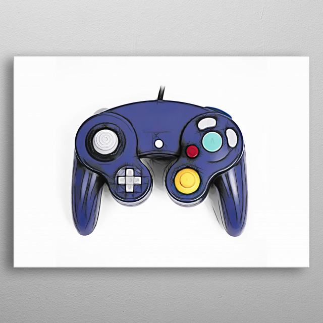 High-quality metal print from amazing Joystick collection will bring unique style to your space and will show off your personality. metal poster