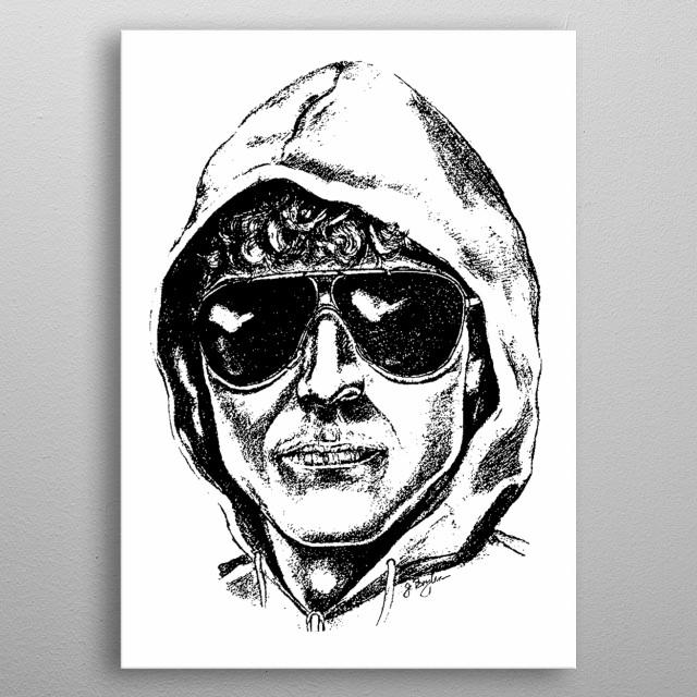Unabomber metal poster