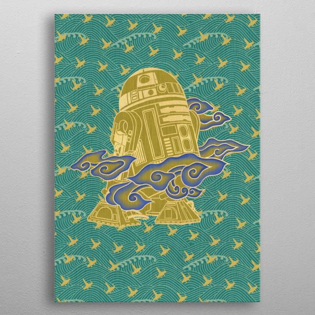 R2-D2 metal poster
