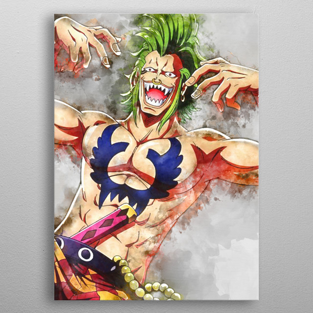 High-quality metal print from amazing Watercolor Anime collection will bring unique style to your space and will show off your personality. metal poster
