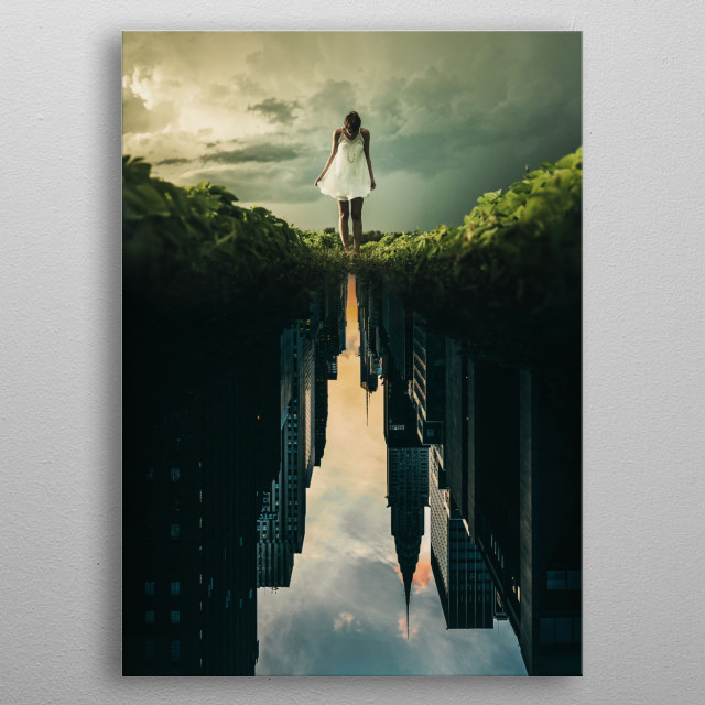 Whimsical Dream metal poster