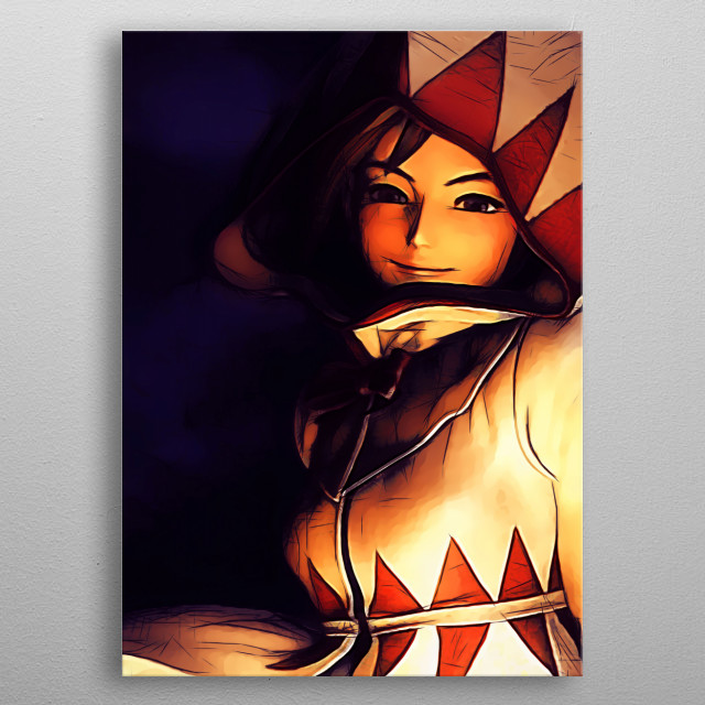 High-quality metal print from amazing Video Games Sketch collection will bring unique style to your space and will show off your personality. metal poster