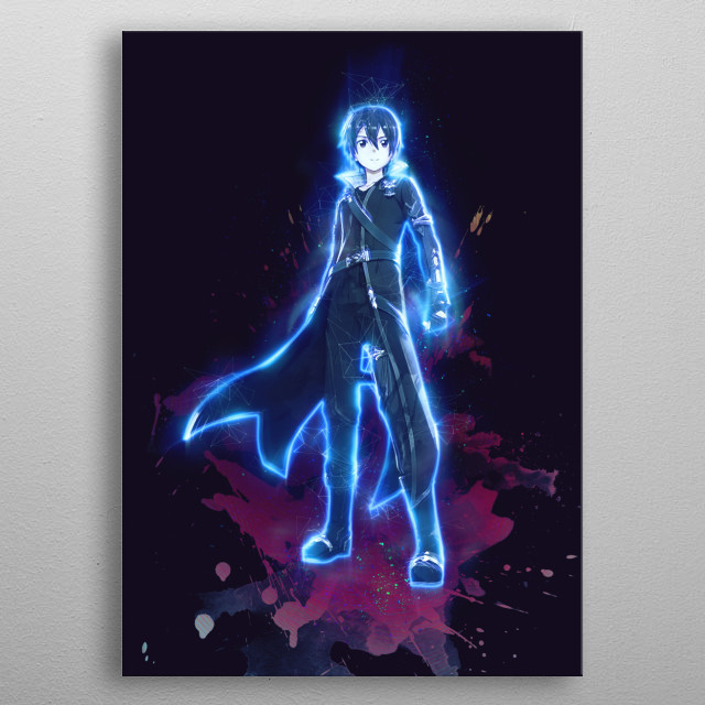 Kirito / Sword Art Online  / SAO / Renegade  metal poster