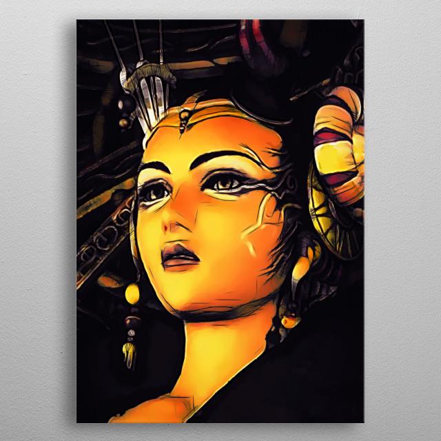 Edea Kramer - Sketch metal poster