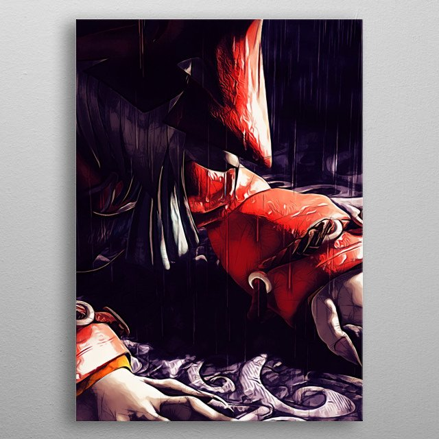 Fascinating metal poster designed by Apocalypticaboy. Displate has a unique signature and hologram on the back to add authenticity to each design. metal poster