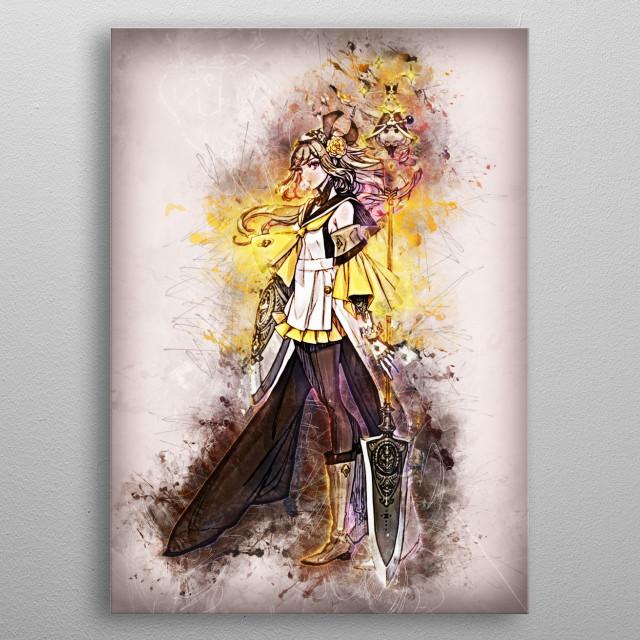 Anime & Manga metal poster
