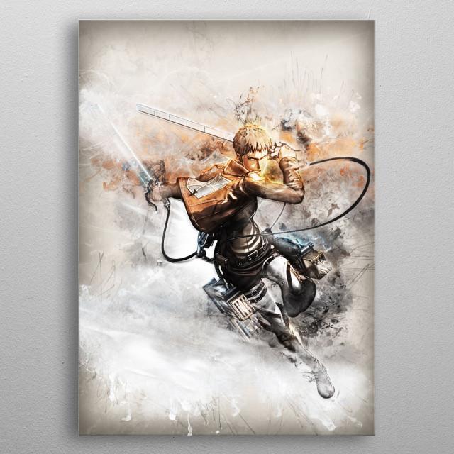 Attack on Titan  metal poster