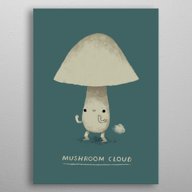 High-quality metal print from amazing Stuff collection will bring unique style to your space and will show off your personality. metal poster