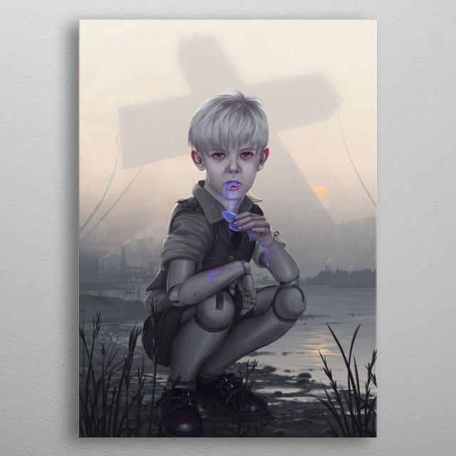This marvelous metal poster designed by eranfowler to add authenticity to your place. Display your passion to the whole world. metal poster
