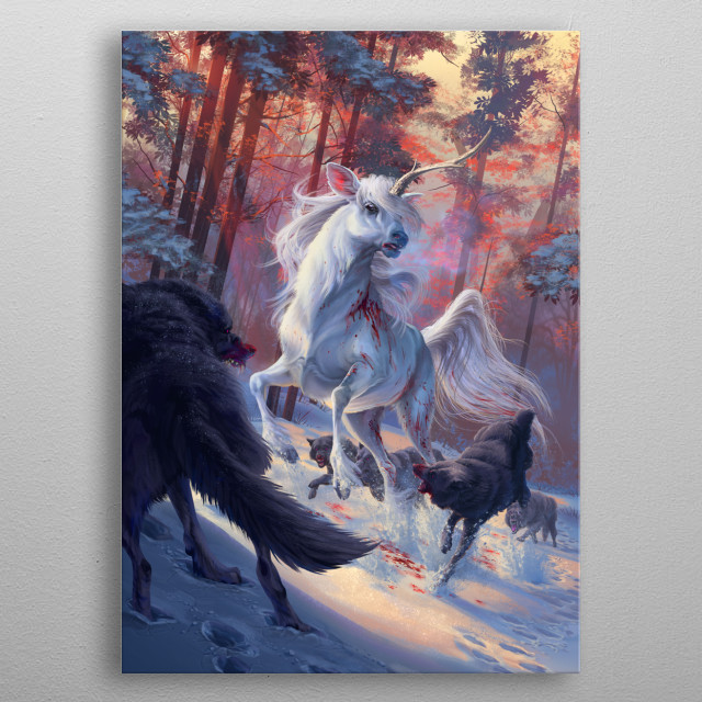 The Hunt metal poster