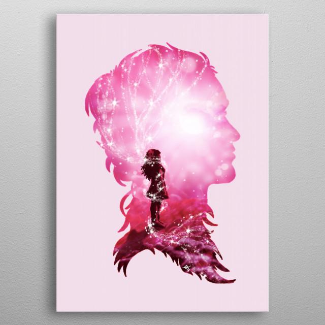 Cosmic Love metal poster