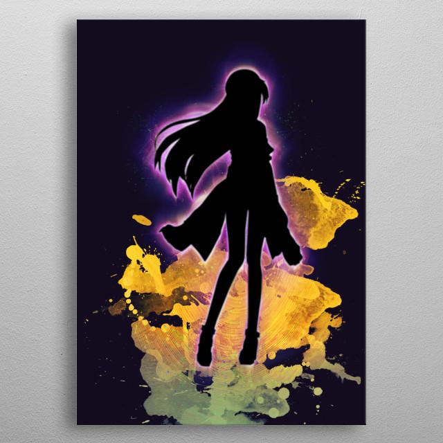 in Sword Art Online Guess Who? metal poster