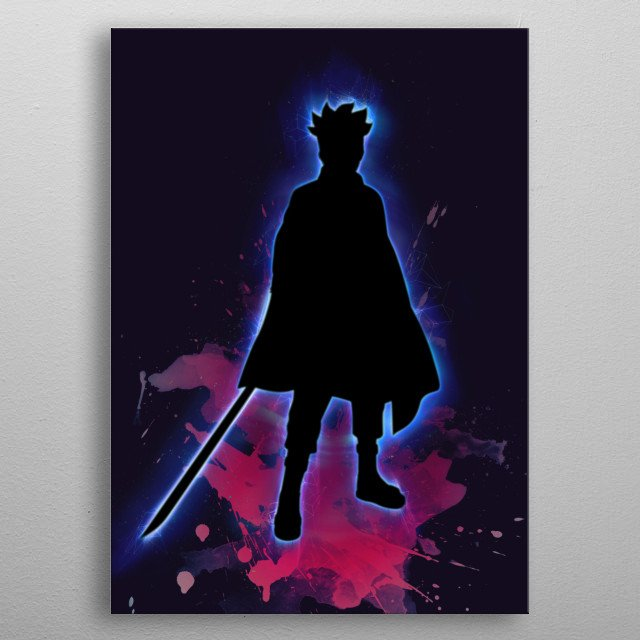 In Boruto Guess Who? metal poster