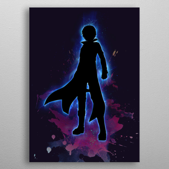 in Sword Art Online Guess Who? metal poster