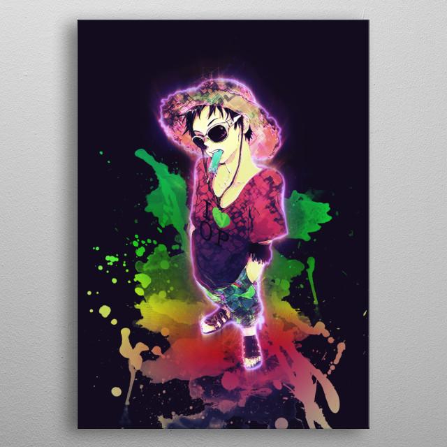 Luffy / OnePiece / renegade metal poster