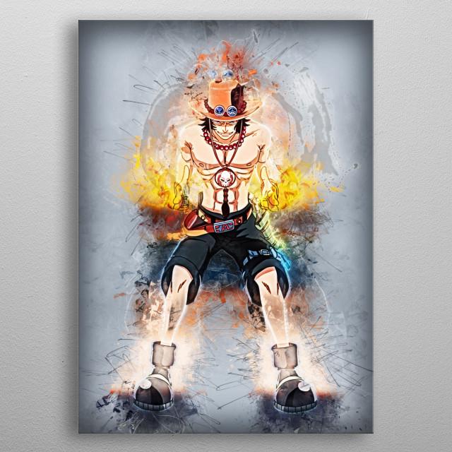 ace  metal poster